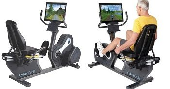 จักรยานออกกำลังกายสำหรับนั่งเอนปั่น