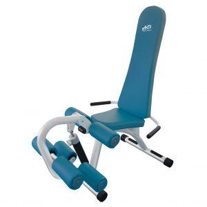 เครื่องออกกำลังกายผู้สูงอายุ เพื่อบริหารกล้ามเนื้อต้นขาด้านหน้าเเละต้นขาด้านหลัง (Leg Extension / Leg Curl)