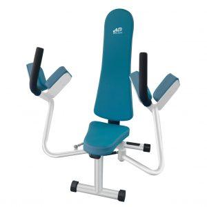 เครื่องออกกำลังกายผู้สูงอายุ เพื่อบริหารกล้ามเนื้อหน้าอก ไหล่ และหลัง (Pec Deck)